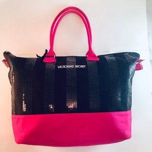 Victoria's Secret Bag Weekender Sequins Large